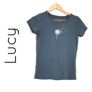 Lucy Active Fit Dandelion Wish Short Sleeve Tee